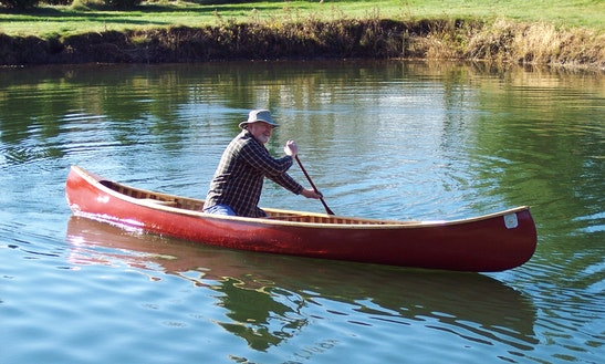 Old Town Canoe Rental In Scottsburg, Va