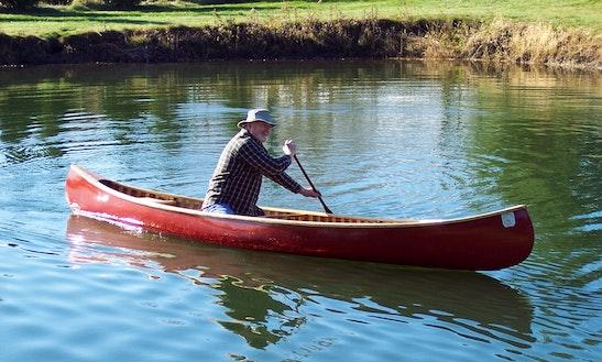 Fun Canoe Trip In Scottsburg, Virginia