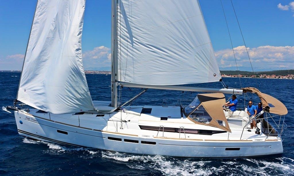 Charter a Sun Odyssey 509 BT in Sukosan, Croatia
