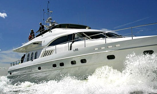 Luxury Princess 23 Power Mega Yacht Charter For 12 People In Eilat, Israel
