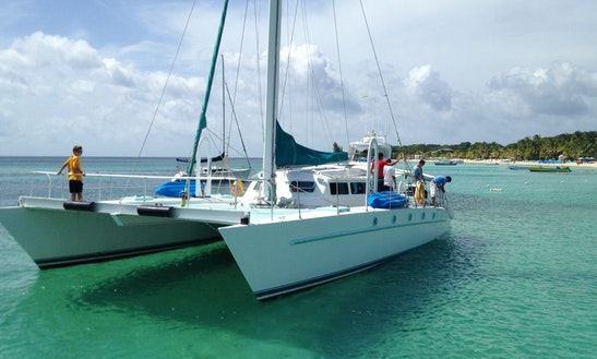 Power Catamaran Rental In West Bay