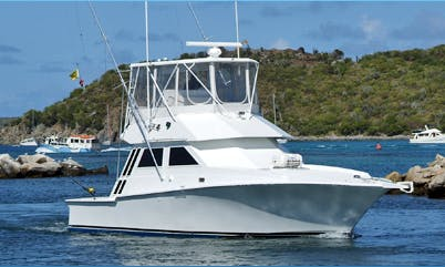 Sport Fisherman Rental in Virgin Gorda