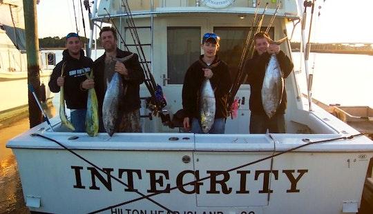 38' Hatteras Sport Fisherman In Hilton Head Island, South Carolina