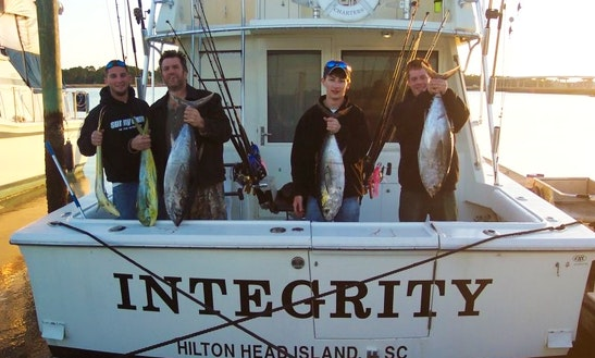 38' Hatteras Sport Fisherman In Hilton Head Island, South Carolina United States