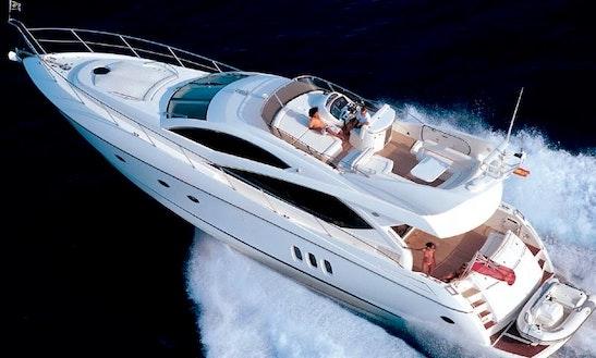 Sunseeker 65' Yacht Charter In The Seychelles