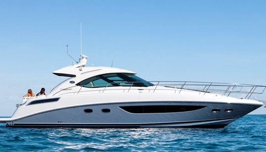 Charter A 51' Sea Ray In The Seychelles
