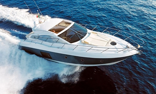 A Gorgeous 8 Person Sessa 43 Motor Yacht In The Seychelles