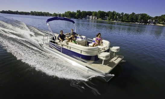 2014 Sweetwater 2086 Pontoon Rental In Portland, Ontario