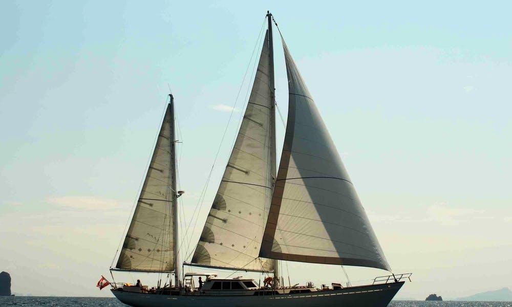 85' Bermuda Ketch Charter in Kawthoung