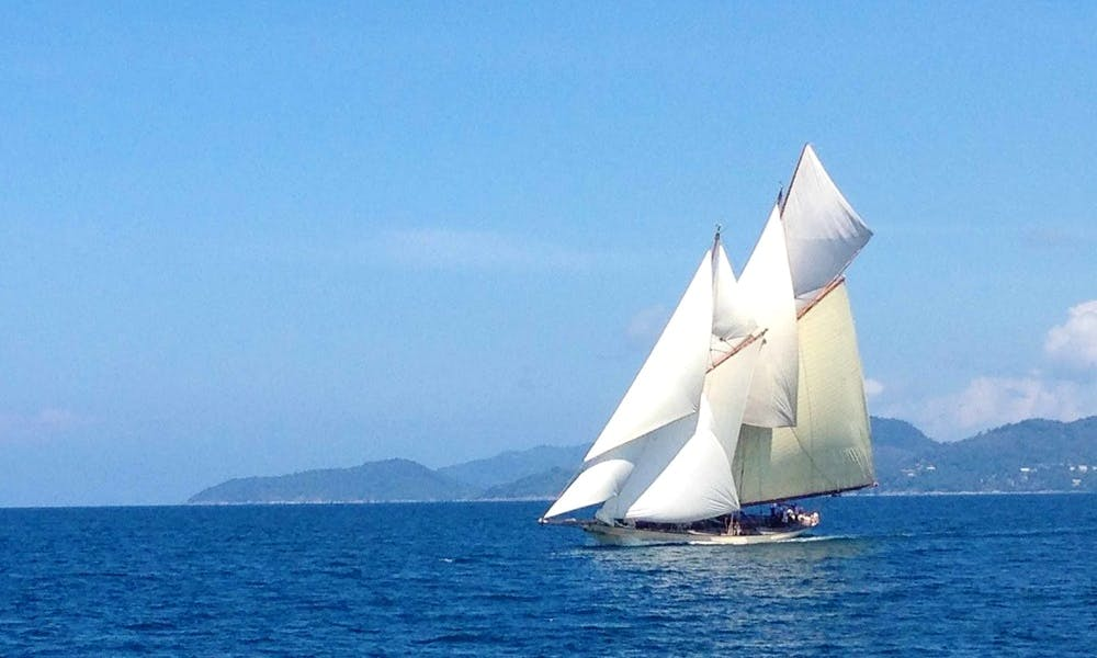 101' Classic Luxury Schooner Rental in Kawthoung