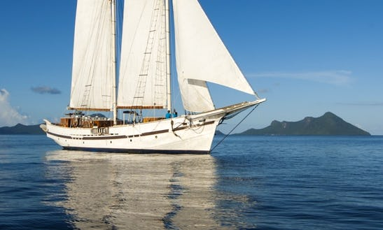 100' Gaff-topsail Schooner Charter In Kawthoung