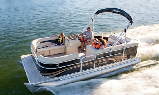 24 ' Sweetwater Pontoon Boat (150 Hp)