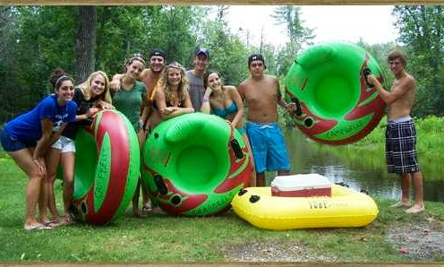 Tube Rental in Roscommon, MI