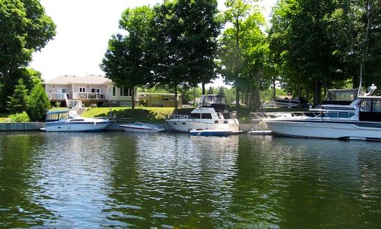 14' Aluminum Fishing Boat Rental In Woodville, Ontario