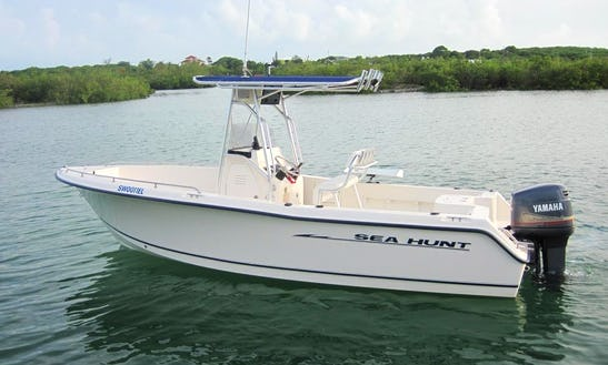 Enjoy Spanish Wells, The Bahamas On 22' Sea Hunt Center Console