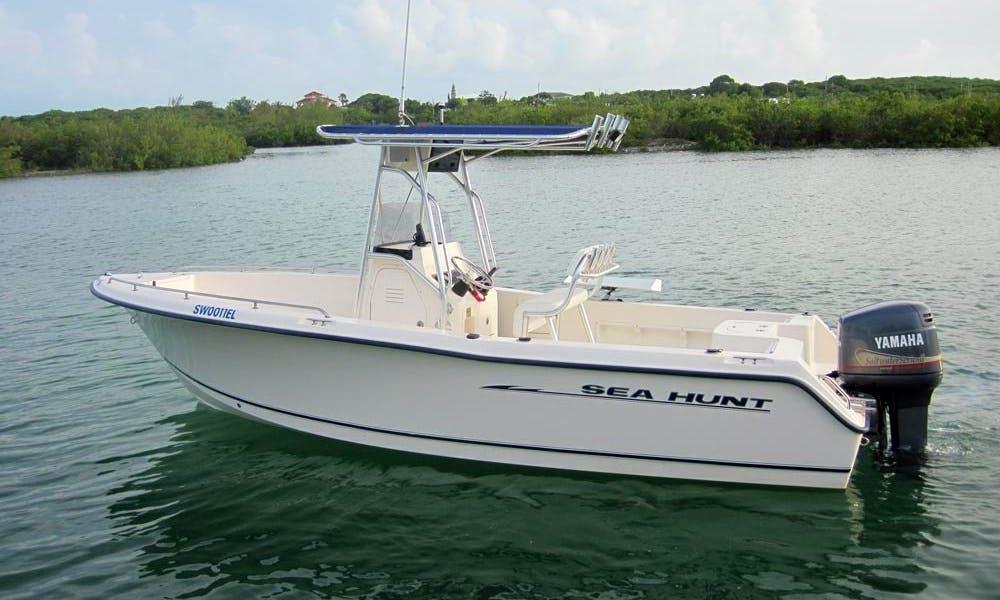 Enjoy Spanish Wells, The Bahamas On 22' Sea Hunt Center Console