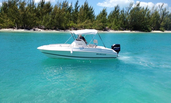 Rent 21' Well Craft Center Console In Spanish Wells, Bahamas