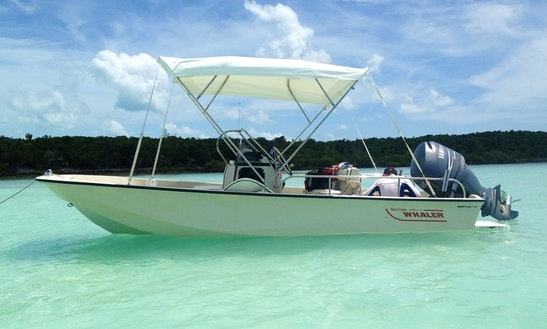 Enjoy Spanish Wells, Bahamas On 17' Boston Whaler Center Console