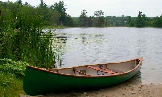 Standard Canoe Rental In Whitehorse, Yukon