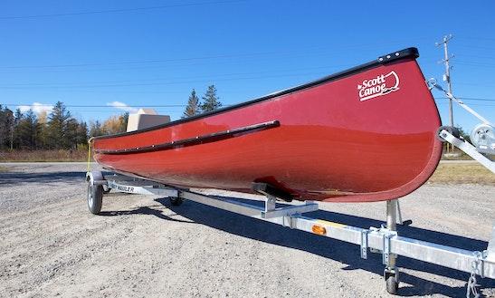 Freighter Canoe 22' Rental In Whitehorse, Yukon