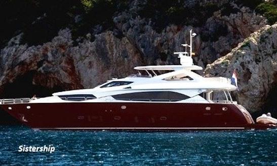 Motor Yacht Rental In Antibes