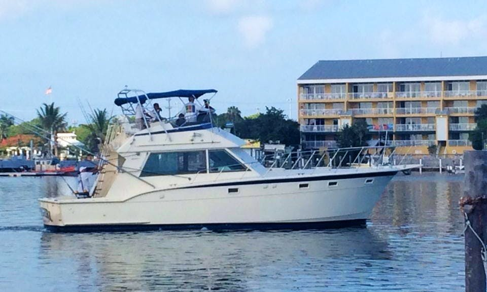 "Fishing Charter on 45ft ""Cowgirl"" Yacht with Captain Mark"