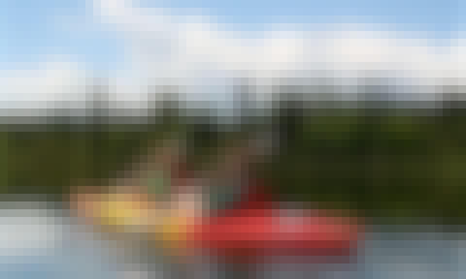Explore Bigfork, Montana on a Tandem Kayak