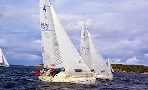 J24 Sailboat Rental in Botany Bay, Australia
