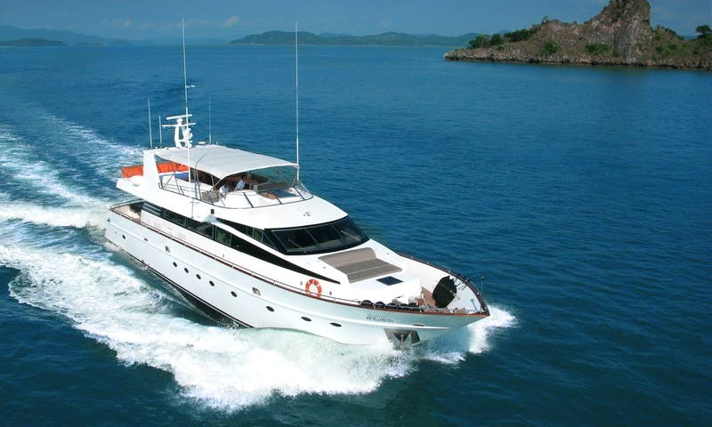 Luxury Power Mega Yacht in A. Thalang