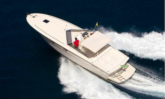 38' Tornado Bowrider Rental In Sorrento, Italy For 10 Person