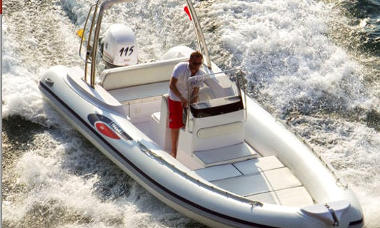 Rent A 2007 Gommone 680 Rib In Sorrento, Italy For 12 Person