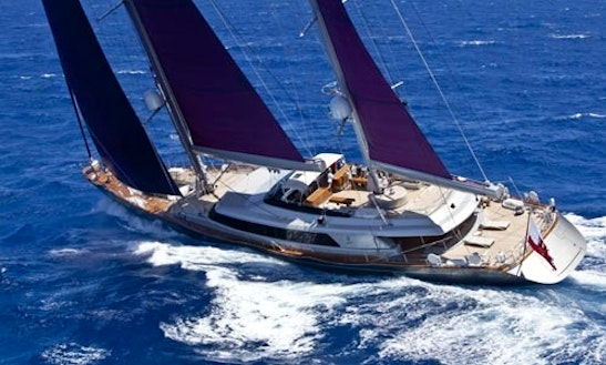 Charter The 164' Sailing Yacht Baracuda In Greece