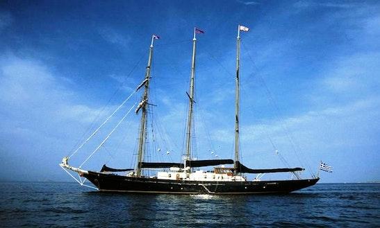 Charter The 135' Sailing Yacht Sir Winston Churchill In Greece