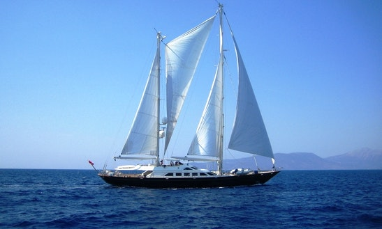Charter The 132' Sailing Yacht Ellen V In Greece