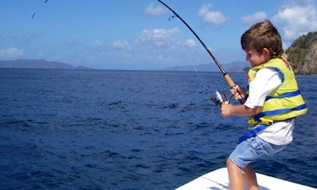 35ft center console fishing charter in st thomas us for Virgin islands fishing
