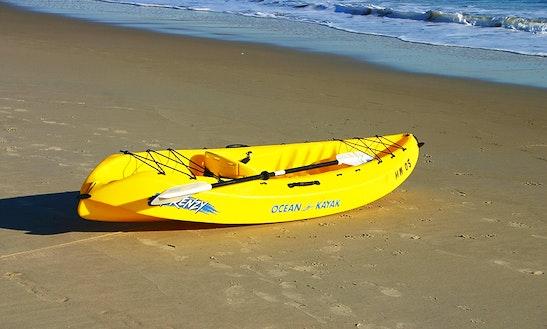 Single Kayak Rental In Hood River