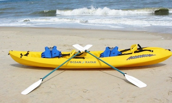 Tandem Kayak Rental In Hood River