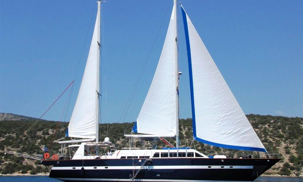92' MED SEA Gulet Charter in Pireas, Greece