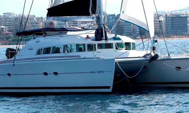 Charter the 51' Sailing Yacht Buena Suerte in Greece