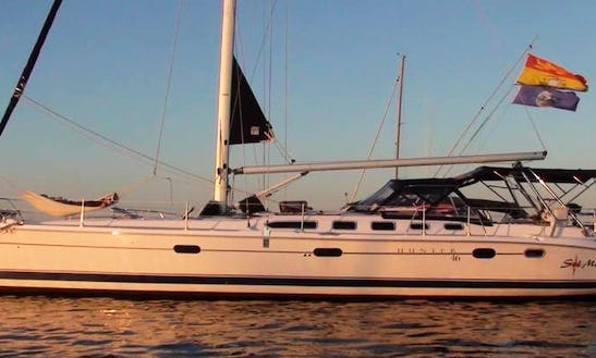 46ft Sailing Yacht Charters In Newport Ri, Narragansett Bay And Islands