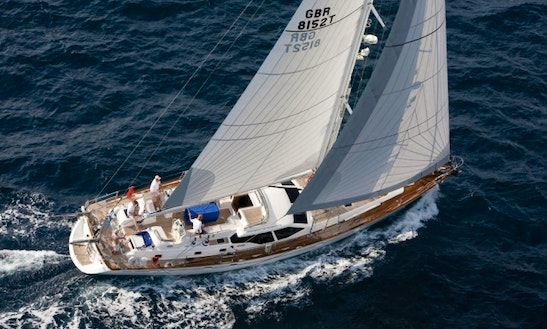 Charter Oyster Marine 66' In Road Town - Elvis Magic