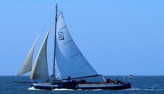 Sailing Mega Yacht In Harlingen