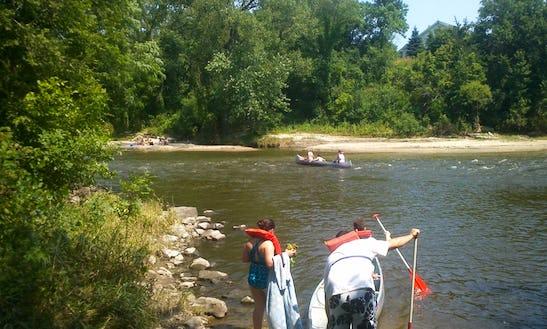 3-person Canoe Rental In Cannon Falls, Minnesota