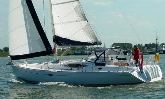 Charter FEELING 44 in Zeeland and Friesland