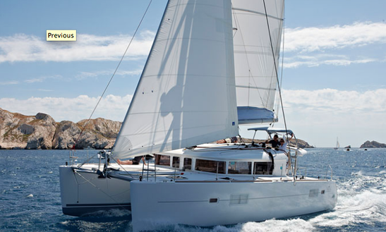 40' Lagoon Catamaran Charter In Split