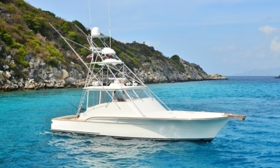 Fishing Charter Boat With Captain And Mate In Charlotte Amalie