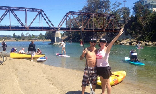 Single Kayak Rental In Santa Cruz, California