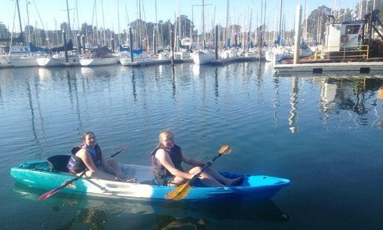 Tandem Kayak Rental In Santa Cruz, California