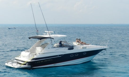 Charter The 42' Regal Motor Yacht From Isla Mujeres