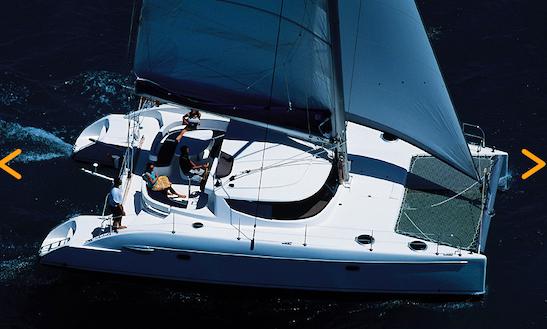 Lavezzi 40 Catamaran Charter In Marina